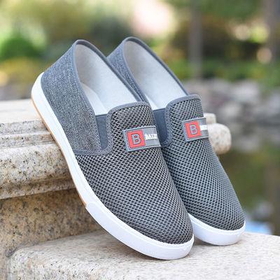 【单棉可选】老北京布鞋冬加绒男款软底保暖防滑中老年爸爸老人鞋