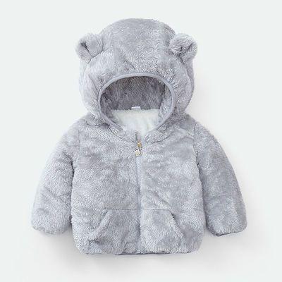 【加绒加厚】儿童棉服男女童婴幼儿加绒款棉袄中小童棉衣加厚外套
