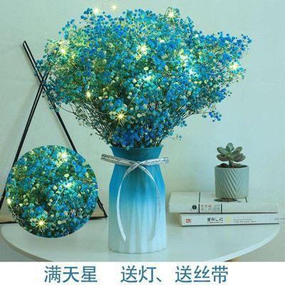 小束紫色摆设摆件美容院浪漫宿舍干花小花束含花瓶送人办公室复古