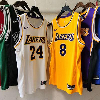 NBA湖人球衣背心23号詹姆斯24号科比男女篮球服定制学生比赛队服