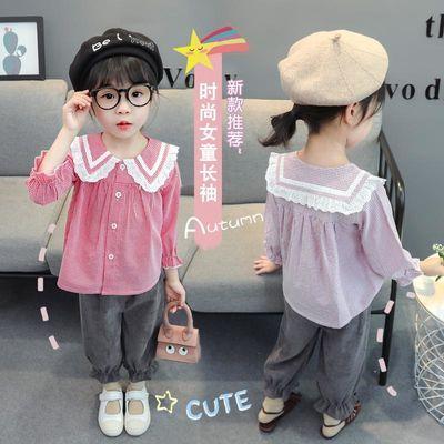 2020新款女宝宝网红套装童装女童春装儿童小女孩洋气时髦春秋款潮