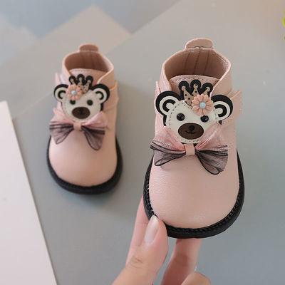 77621/女宝宝2021婴儿小皮鞋学步鞋新款春秋1-3岁幼儿平底防滑百搭单鞋