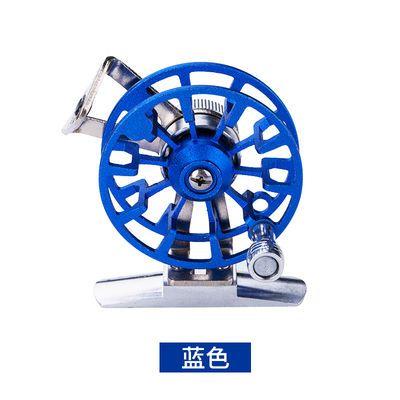 热销特价鱼线轮全金属带泄力前打轮渔轮矶竿冰钓轮渔线鱼轮冬钓飞