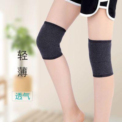 护膝春秋薄款纯棉护腿睡觉全棉女士关节专用套膝盖空调保暖老寒腿