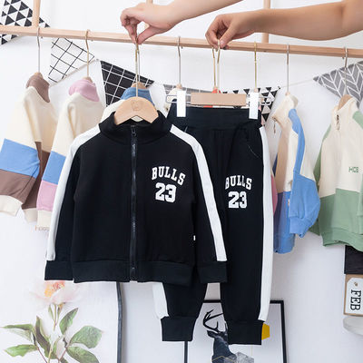 童装男童套装中小童2-7岁秋季儿童套装女童秋装新款运动两件套潮
