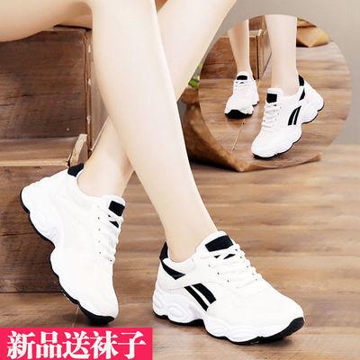 鞋子女夏季新款运动鞋女网面透气小白鞋女学生韩版跑步鞋休闲鞋子