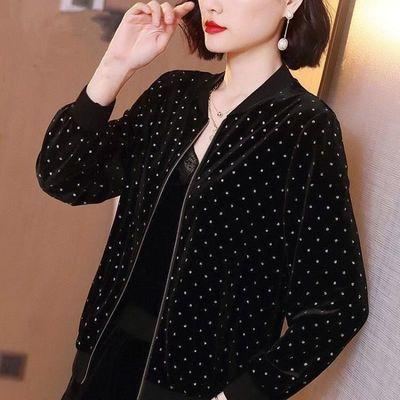 2020新款小外套时尚女秋百搭防晒紫外线上衣服装大码夹克女士开衫