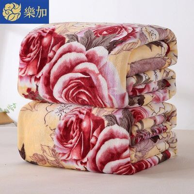 珊瑚绒毯子法兰绒毛毯盖毯加厚学生单人床单单件空调毛巾被子冬季