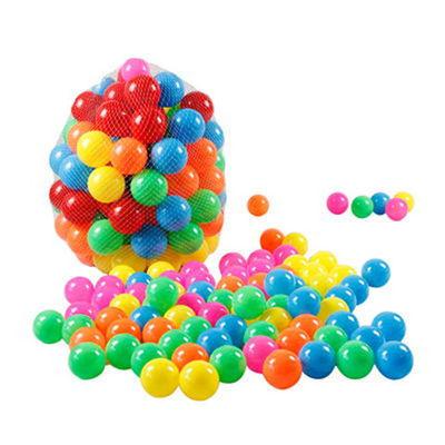 【买3份送1份】儿童玩具海洋球波波球戏水玩具多彩球50个