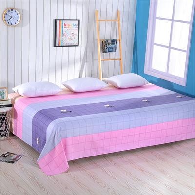 老粗布100%纯棉加厚凉席全棉双人床单2m2.5米单人被单榻榻米帆布