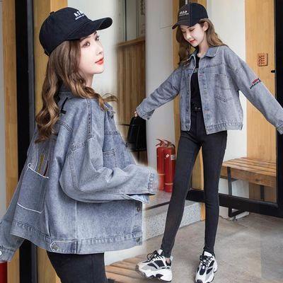 2020新款牛仔外套女学生韩版宽松春秋季百搭短款ins潮薄款上衣