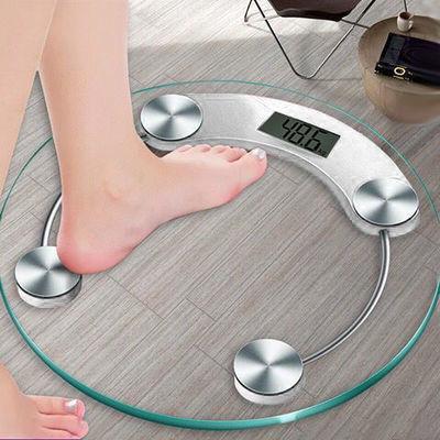 电子称体重秤精准家用健康秤人体秤成人减肥称重计器准