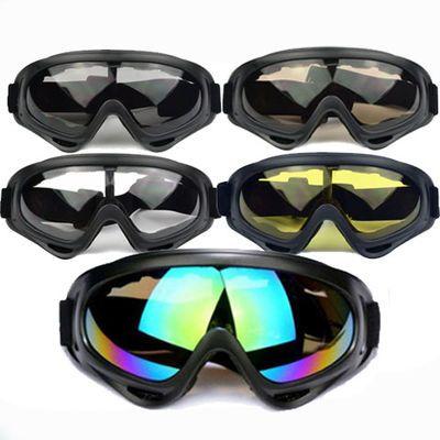 防风眼镜骑行护目镜防风沙防飞溅劳保防护摩托车透明防尘男滑雪镜