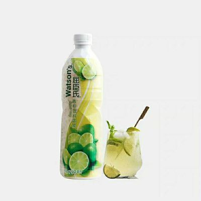 屈臣氏青柠檬汁/黄柠檬汁750ml屈臣氏柠檬饮料浓浆浓缩果汁柠檬水