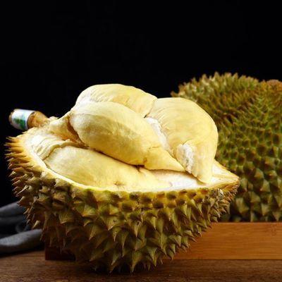 泰国进口榴莲新鲜热带水果带壳特价批发金枕头非甲仑猫山王榴莲肉