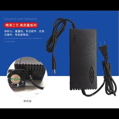 智能12.6V5A 6A聚合物锂电池充电器 12V40AH 60A锂电瓶通用
