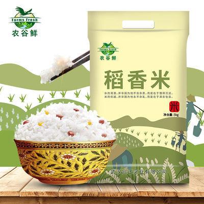 【10斤2019新米】农谷鲜稻香米网红大米10斤不抛光无农残南方大米