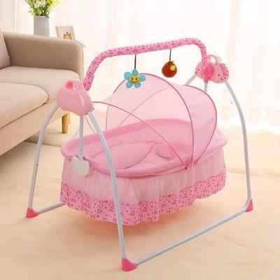 摇篮床婴儿床哄娃神器婴儿摇摇椅宝宝电动摇篮床吊床儿童摇摇床
