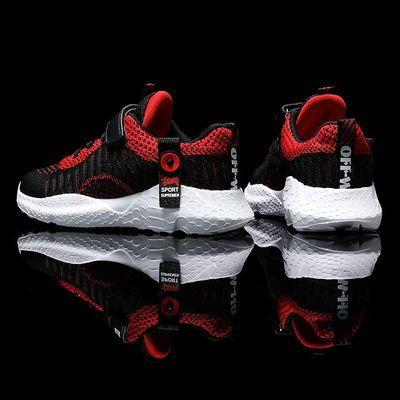 2020年四季潮鞋男女童鞋飞织大码童鞋青少年学生运动跑鞋男儿童鞋