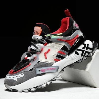 老爹鞋ins 秋冬季男鞋透气男女运动鞋潮流篮球鞋2020新款跑步鞋aj
