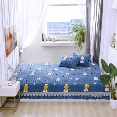 榻榻米床盖床单飘窗炕垫订做定制大炕单炕垫三件套加厚保暖防滑