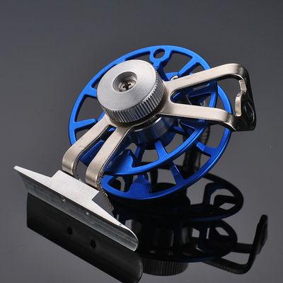 爆款鱼线轮全金属带泄力前打轮渔轮矶竿冰钓轮渔线鱼轮冬钓飞钓轮