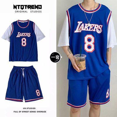 2020全明星科比8号篮球服一套男夏季韩版运动套装学生球衣两件套