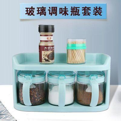 厨房玻璃调料盒油壶调味罐佐料瓶酱油瓶醋瓶盐罐糖罐厨房收纳套装
