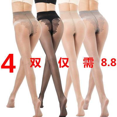 新品4双装丝袜女超薄连裤袜比基尼薄款丝袜裤春夏裤袜长丝袜加档