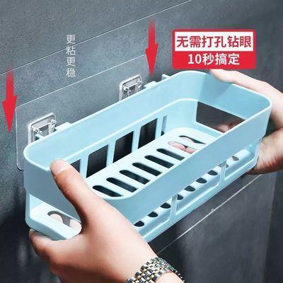 卫生间置物架免打孔卧室厕所架子壁挂式浴室置物架挂墙上收纳盒