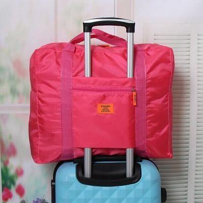 旅行袋手提袋大容量短途学生书包男女旅行收纳袋拉杆箱袋工厂直销