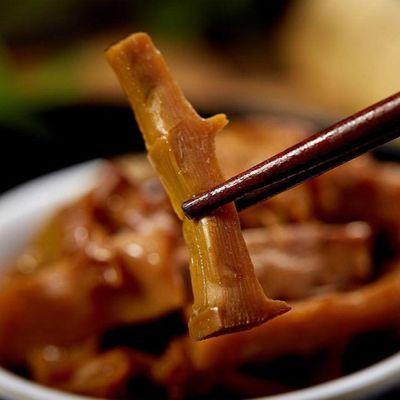 宁波奉化特产新鲜油焖笋春笋雷笋罐头即食扁尖咸笋烤笋下饭菜凉菜