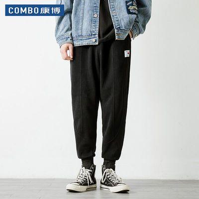 COMBO/康博男士秋冬季长裤子韩版潮流休闲运动小脚裤哈伦裤束脚裤