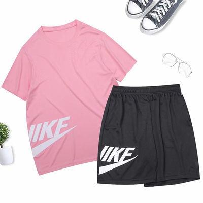 运动套装男女夏季新款跑步健身服两件套训练足球服速干篮球运动服