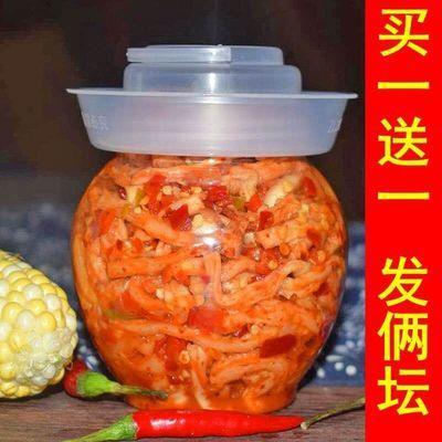 2坛脆萝卜条湖南手工土特产腌制萝卜干酱菜咸菜白萝卜下饭菜现做