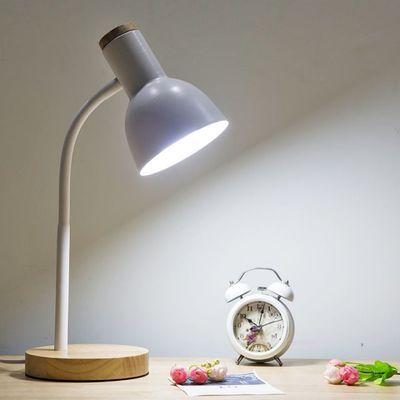爆款北欧宜家led护眼书桌大学生寝室插电式阅读灯现代创意小台灯i