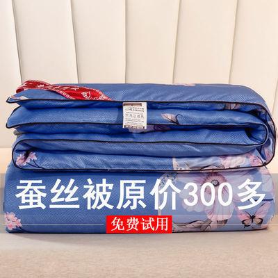 蚕丝被100%桑蚕丝冬季8斤加厚10斤被子6斤春秋被芯宿舍单人夏凉被
