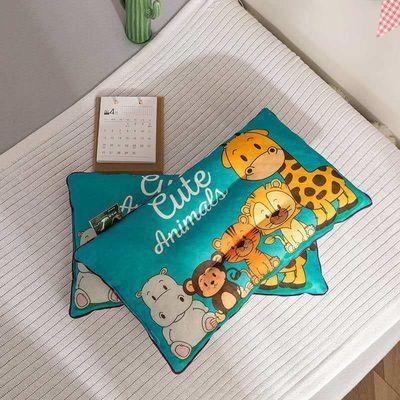 64891/儿童乳胶颗粒枕保健卡通枕芯成人学生枕芯护颈枕头针织乳胶枕头芯
