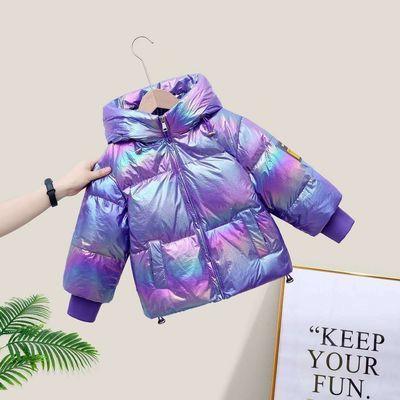 新款炫彩儿童羽绒服免洗男女童大中小童加厚宝宝童装羽绒服外套潮