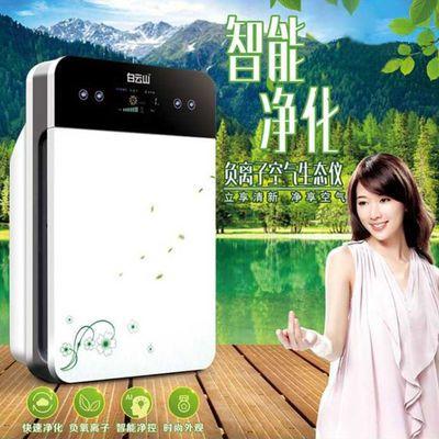 白云山空气净化器史帝夫家用卧室除甲醛除雾霾杀菌负离子PM2.5