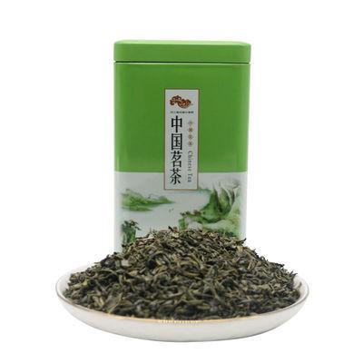2020新茶绿茶春茶清香型炒青茶叶125g自饮精美罐装