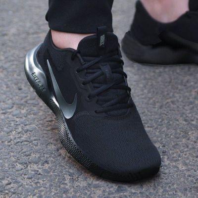 Nike男鞋运动鞋2020春秋新款黑武士网面鞋耐磨减震跑步鞋CD0225-