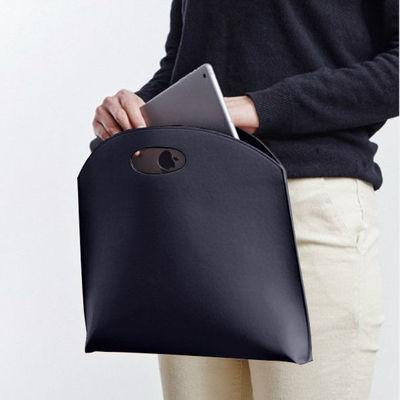 韩国新款女包手提包时尚简约手拿包OL气质通勤包文件包女式公文包