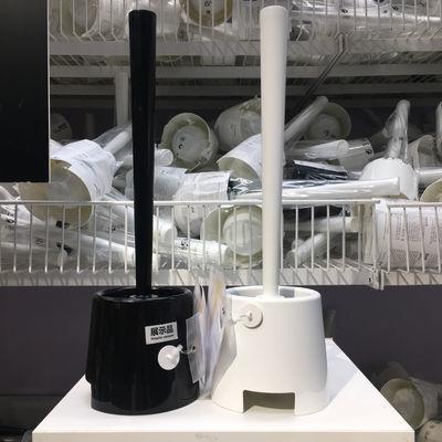 IKEA宜家伯蒙马桶刷套装浴室坐便器清洁刷子卫生间洁厕刷洗厕所刷