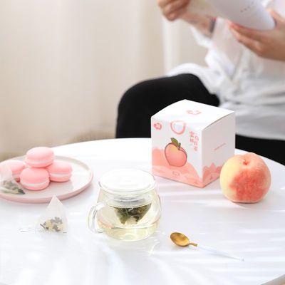 【买一送一】共30包蜜桃乌龙茶三角包小袋水果茶快乐茶包45g15袋