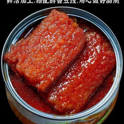 即食不添加黄豆 大段带鱼罐头五香 香辣香酥下饭菜美味海鲜速食品