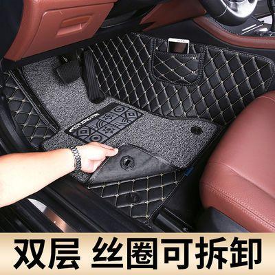 北京现代昂希诺 菲斯塔纯电动ix2逸行35领动混动悦纳名图汽车脚垫
