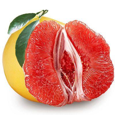 【精选】柚子红心蜜柚现摘当季新鲜水果正宗福建平和管溪红心柚子