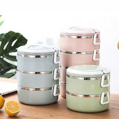 多层成人超长保温饭盒桶送饭1-2小时保暖304不锈钢3三层大容量学