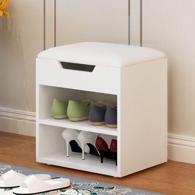 换鞋凳欧式沙发储物鞋柜进门口坐凳穿鞋凳鞋柜白色凳